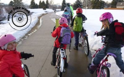 Winter Bike and Walk to School Day