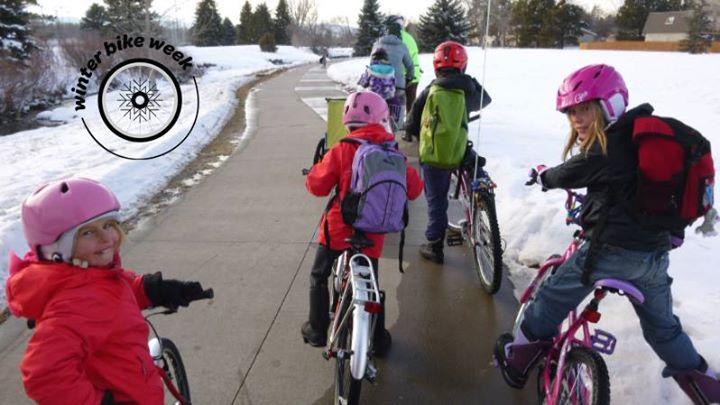 Winter Bike and Walk to School Day