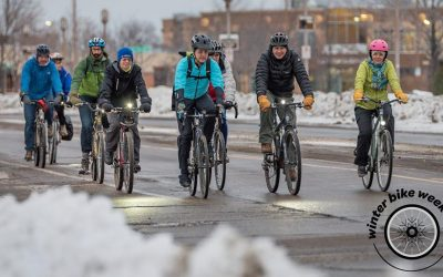 Winter Bike to Work Day: Warmup Station and Group Ride