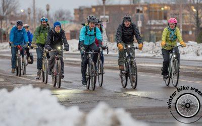 International Winter Bike to Work Day February 8th